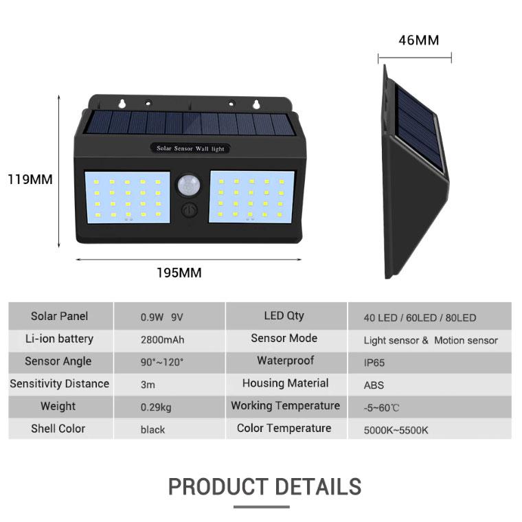 LED lampe med sensor 1 brillene.no